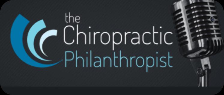 The Chiropractic Philanthropist logo
