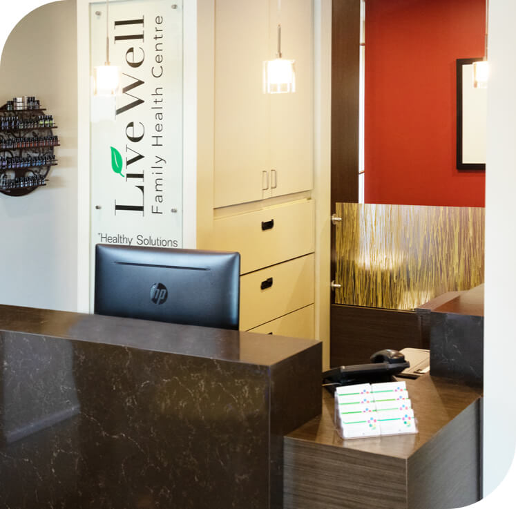 Live Well Family Health Center office